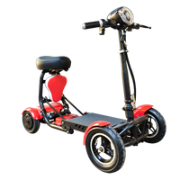 Mini scooter pliable